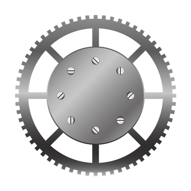 齿轮设计矢量图