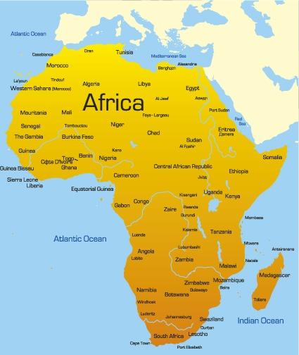 世界地图分布板块超清版