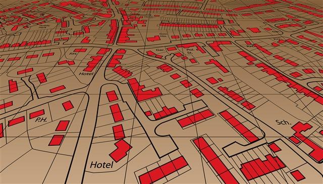 城市地图元素