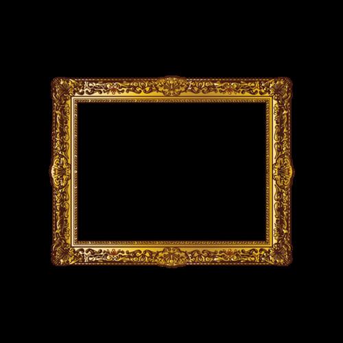 欧式复古相框素材