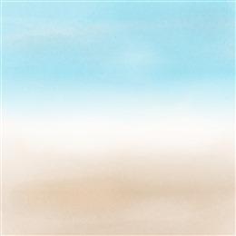 水彩天空背景