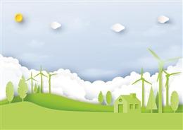 低碳生活PPT背景图片