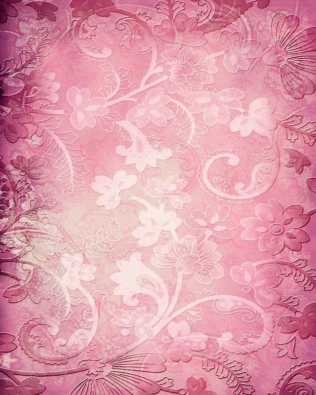 粉色花纹背景