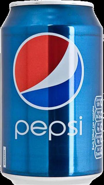 百事可乐罐装实拍图片