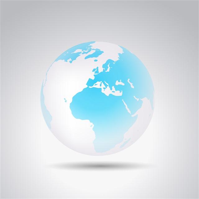 3D地球模型
