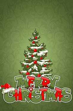 卡通圣诞节海报背景