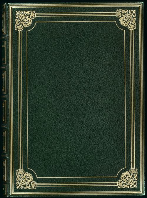 精美复古书皮封面设计