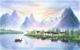 山水风景壁纸高清图片