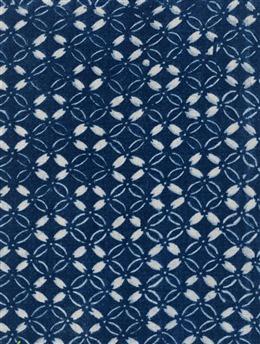 蓝色质感花纹无缝拼接图片