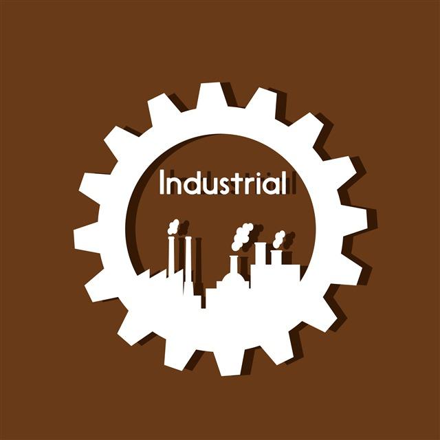 工厂logo齿轮标志