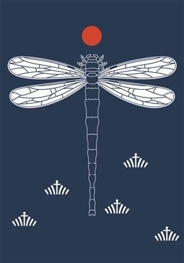 蜻蜓创意图案设计