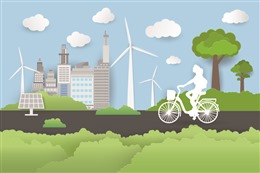 低碳环保背景图片