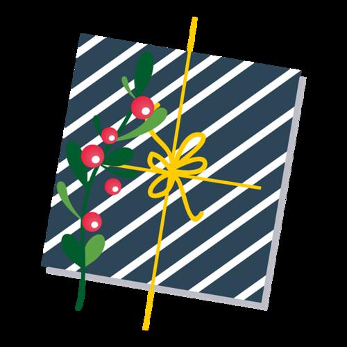 圣诞节条纹礼盒图片