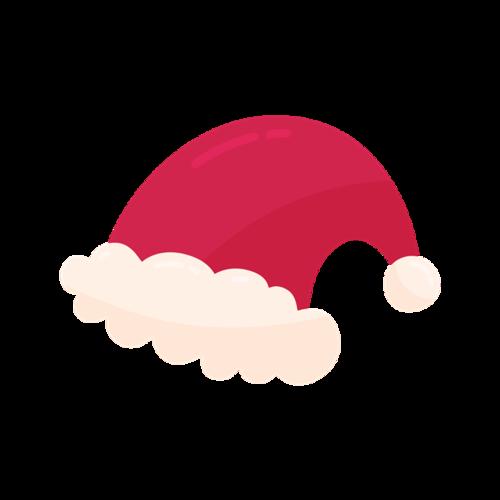卡通可爱圣诞帽子图片