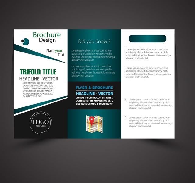 企业产品折页宣传册