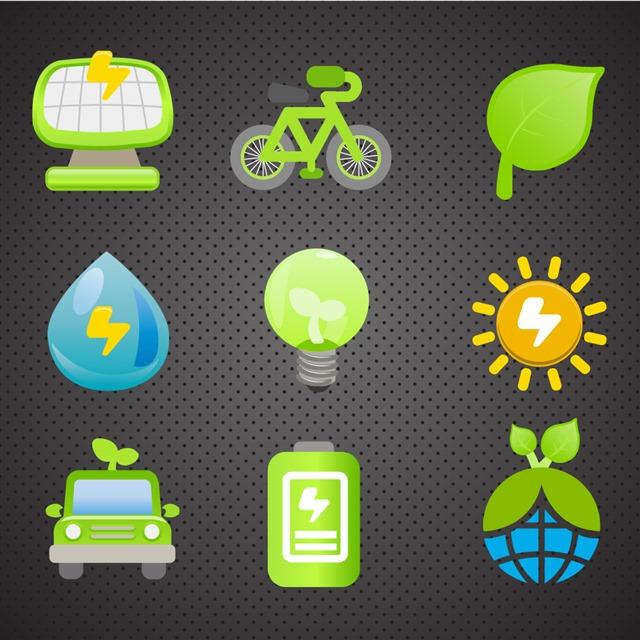 环保图标设计图片