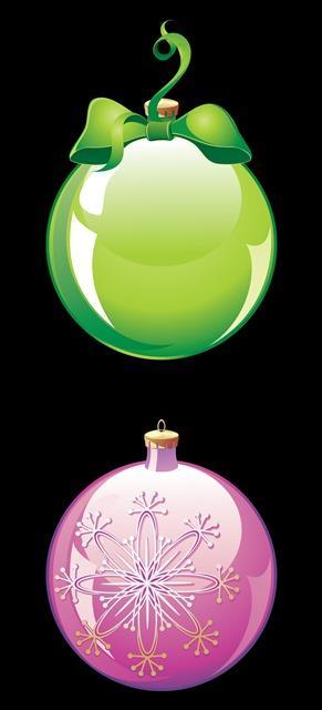 圣诞水晶雪花吊球装饰图片