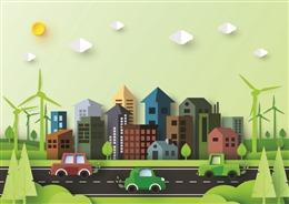 节能环保低碳生活背景