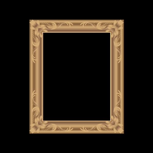 欧式复古油画框图片