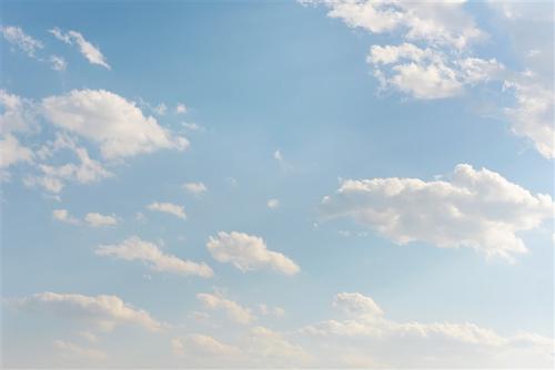 蓝天白云超清背景图