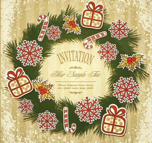 精美圣诞贺卡图片