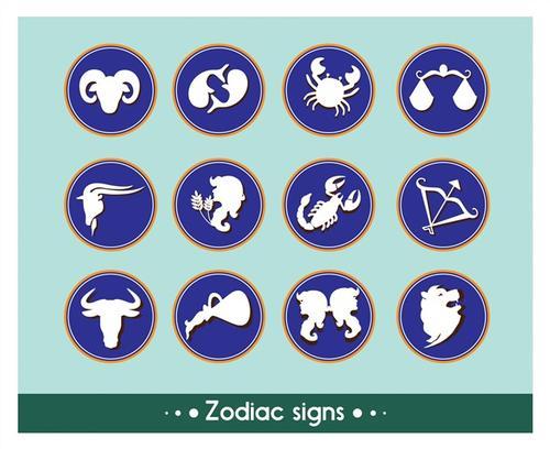 十二星座标志