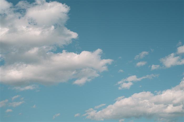好看的蓝天白云图片