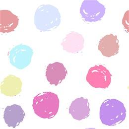 彩色圆点背景图