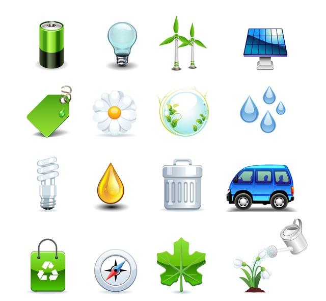 生态能源图标