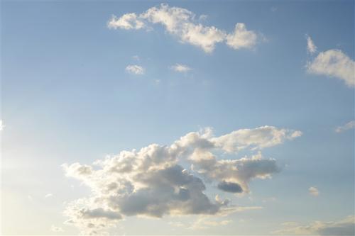 最美的蓝天白云图片