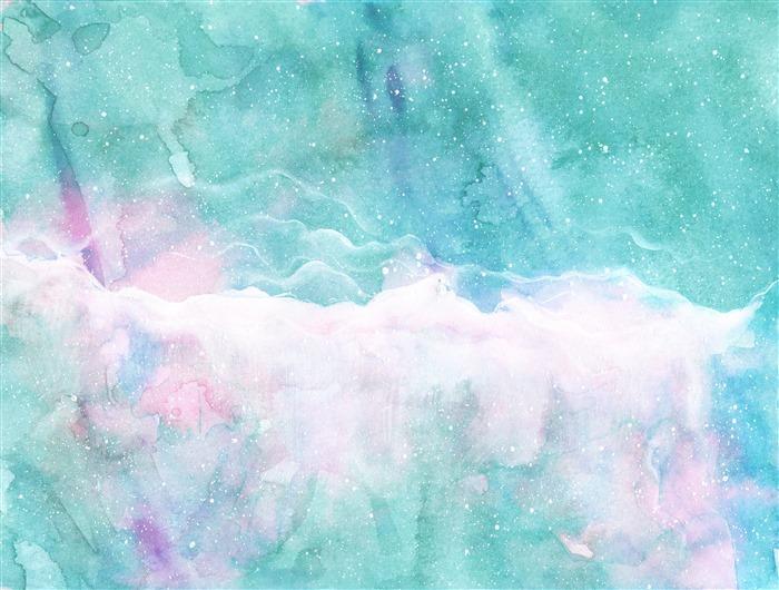 水彩纹路背景