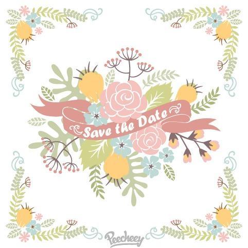 浪漫玫瑰花边框装饰图片