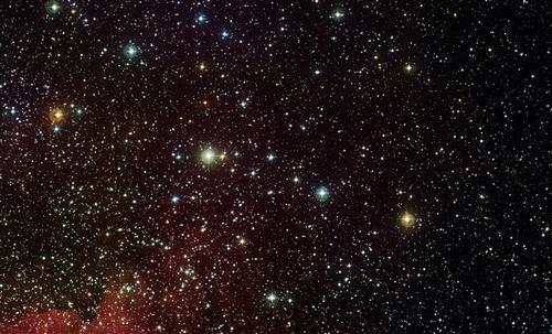 唯美夜空图片