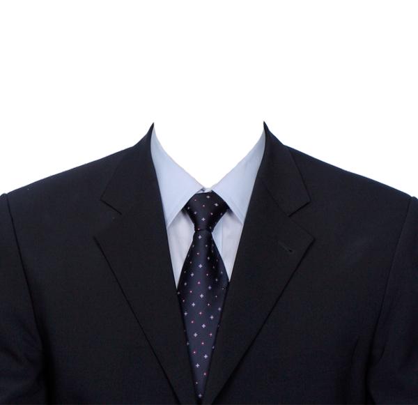 男士证件照衣服抠图模板