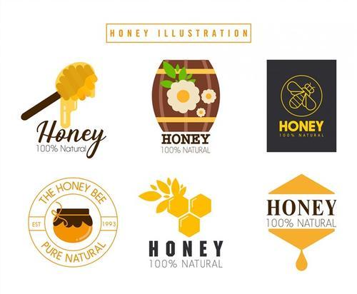 可爱蜂蜜logo设计