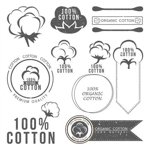 棉质产品标志图标