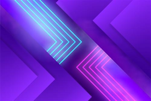 简约紫色折线背景