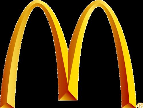 麦当劳金色拱门logo