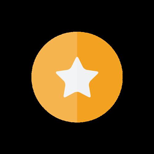 星星收藏矢量图标