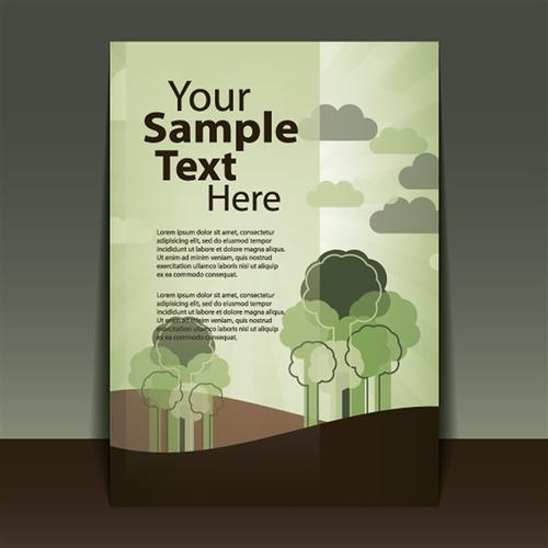 环保公司宣传册封面