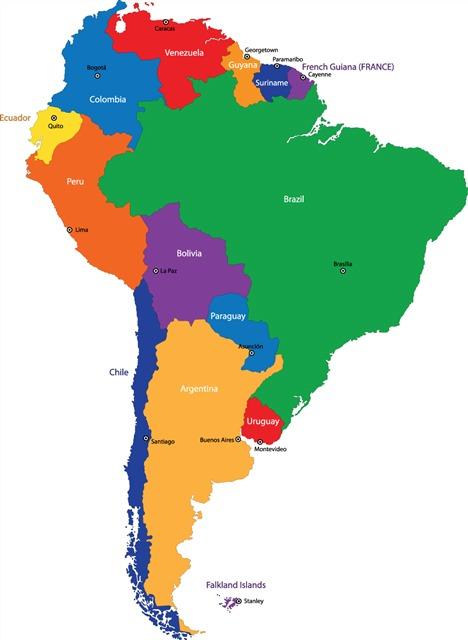 美国南部地图全图高清版