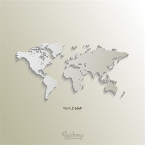 世界地形图高清可放大
