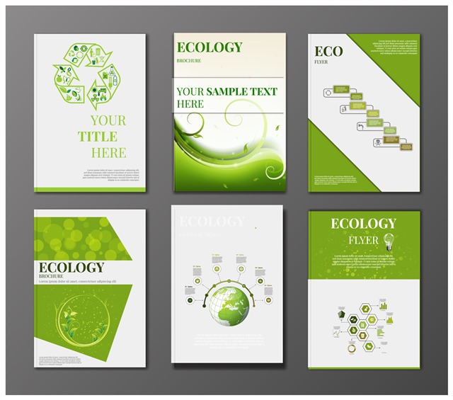 绿色生态节能环保VI模板