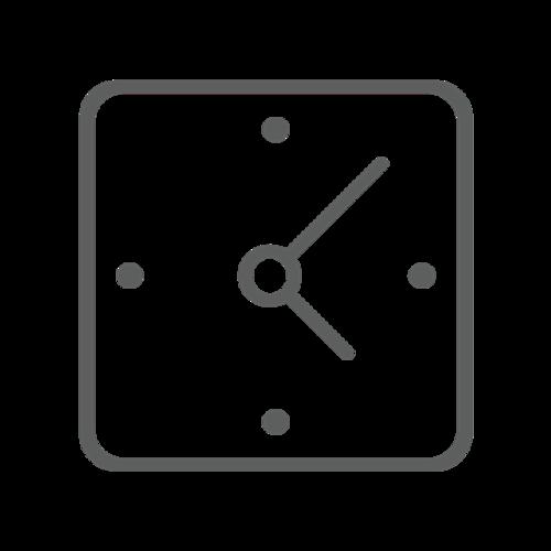 方形时钟矢量图标