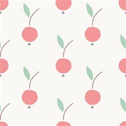 水彩樱桃背景