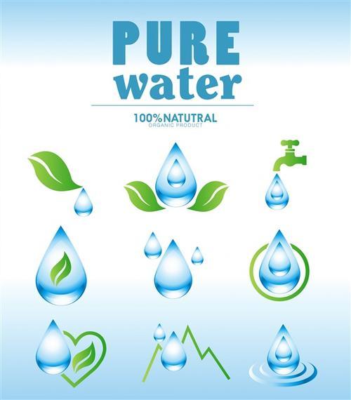 创意水滴logo图案