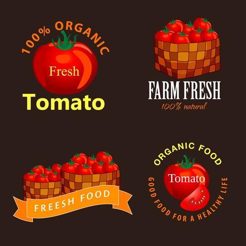 番茄图案设计