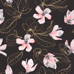 古典花卉背景