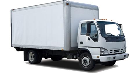 货物集装箱卡车