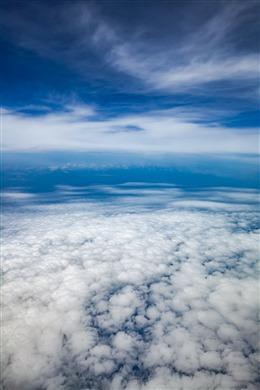 天空之境摄影图